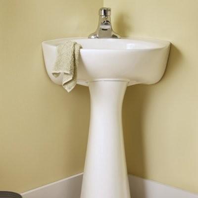 American Standard Cornice 0611400 Pedestal Sink modern-bathroom-sinks