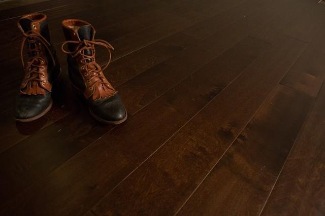 Harvest Birch Hardwood Flooring modern-hardwood-flooring