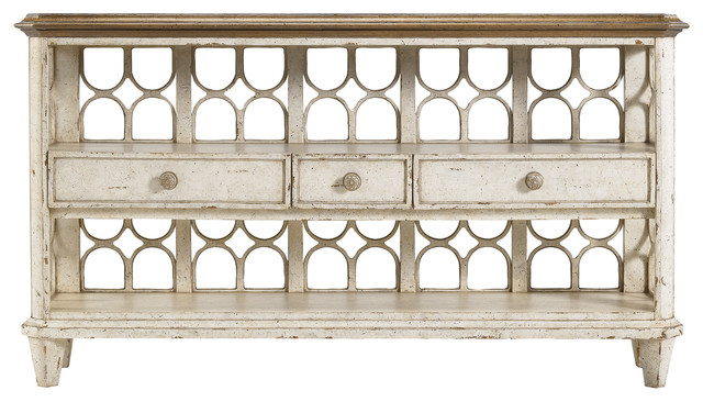 Archipelago Antilles Console Table - Blanquilla Finish farmhouse-console-tables