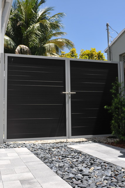 Miami Beach Residence Tropical Home Fencing And Gates