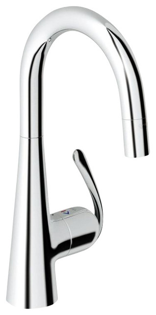 Grohe Ladylux Pro Prep Sink Kitchen contemporary-kitchen-faucets