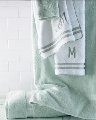 Guesthouse Six-Piece Towel Set, Plain traditional-towels