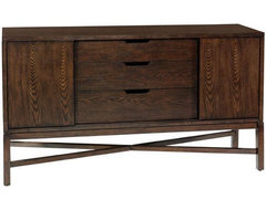 Martha Stewart Living Lombard Buffet modern buffets and sideboards