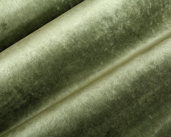 Nicosia Velvet Upholstery in Moss - Nicosia Velvet Upholstery in Moss Green. This plush Belgian velvet fabric is sumptuous and inviting. Available in rich, vibrant colors. Can be custom colored with a 30 yrd. minimum.