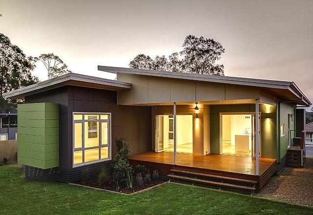 lisbon 4 bed 2 bath prefab modular home modern brisbane by