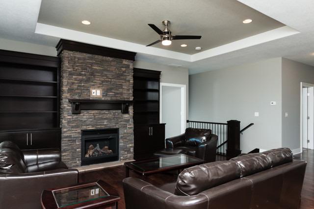 Contemporary Design 1 - Traditional - Family Room - other metro - by ...
