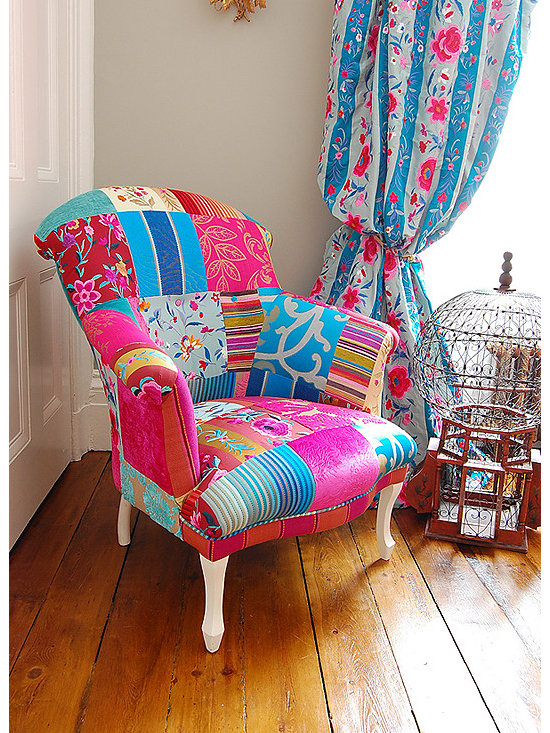 Mandalay Chair by Deborah Swift -