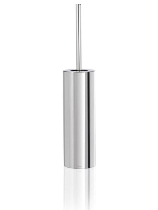 Blomus - Nexio Free-Standing Toilet Brush - The Blomus Nexio Free-Standing Toilet Brush is made with durable stainless steel and available in your choice of brushed matte or mirror polished finish.
