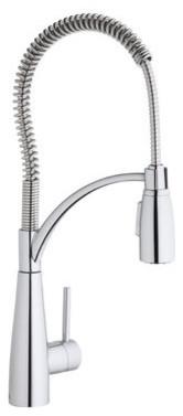 Elkay LKAV4061CR Chrome Avado Avado Pre Rinse Pullout Spray Kitchen contemporary-kitchen-faucets