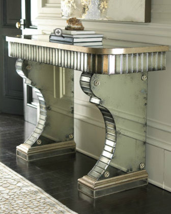 Stella Mirrored Console eclectic-side-tables-and-end-tables