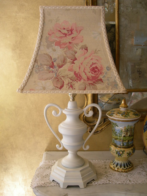 Antique Bronze Table Lamp Shabby Chic Table Lamps