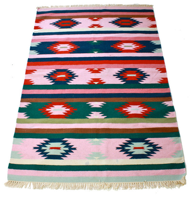 Navajo Style Rug eclectic-rugs
