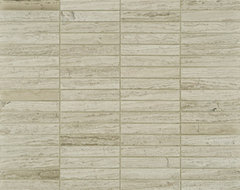 Athens Silver Cream Stone Tile  - Ann Sacks Tile & Stone contemporary bathroom tile
