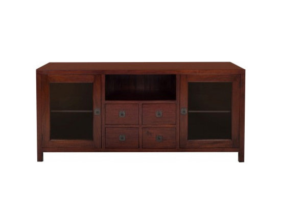 Solid Wood Living Room Furniture - Rise TV Stand