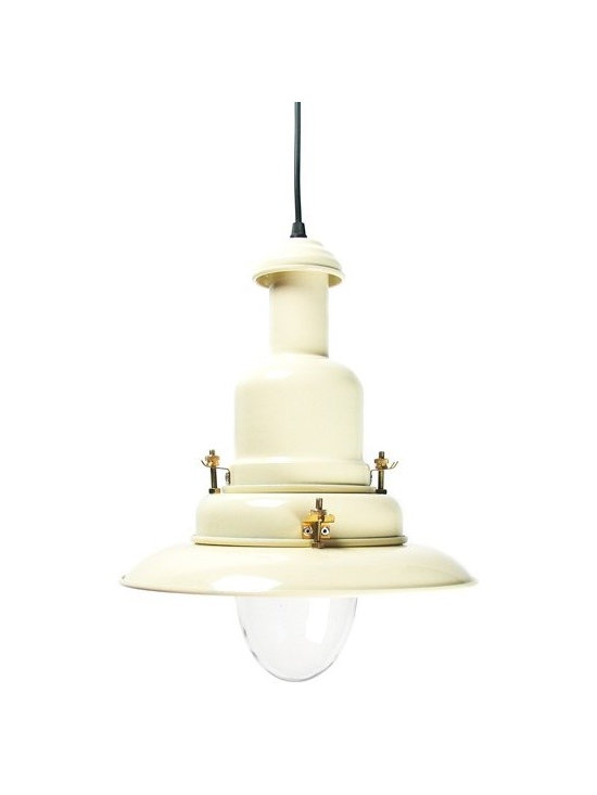 Fisherman's Lamp - Cream -