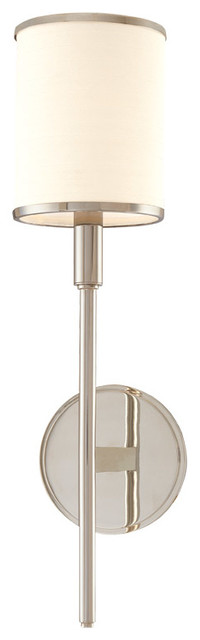 Hudson Valley Lighting 621-PN Aberdeen 1 Light Wall Sconces in Polished Nickel contemporary-wall-sconces
