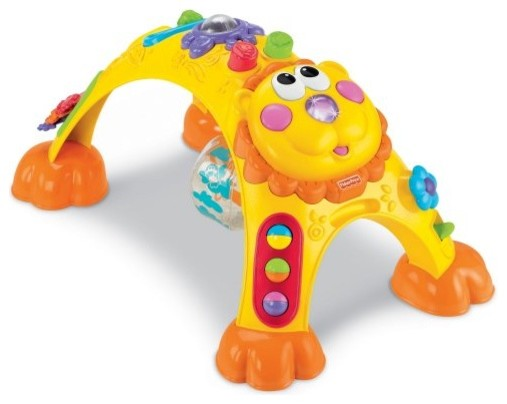 Fisher-Price Sit to Stand Activity Lion - Contemporary - Baby And