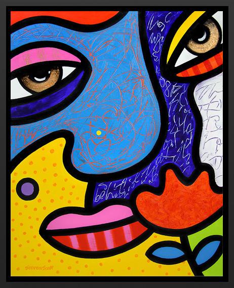 """""""Max"""" Framed Art Print modern-artwork"""