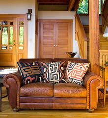 Congo Raffia Pillow Swahili African Modern Fair Trade Gifts And Home Decor