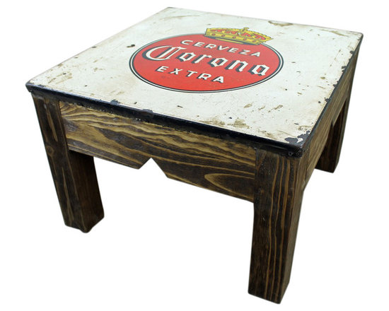 Old World Mesquite Corona Coffee Table - This Old World Mesquite Corona Coffee Table is constructed of solid wood with an authentic Corona Metal top. No veneers are used, only solid planks of wood with a polyurethane type finish topped with a soft hand-rubbed wax. This finish makes this piece a perfect accent to any Spanish Colonial, Hacienda Style or Tuscan decor.  Notice the hand carved, hand forged iron accents. Beautiful! Each piece is different and order times vary. Call for details. Please note that long wait times could be possible if this item is not in stock at the time of order.