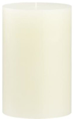 """Ivory 4""""x6""""Pillar Candle contemporary-candles-and-candleholders"""