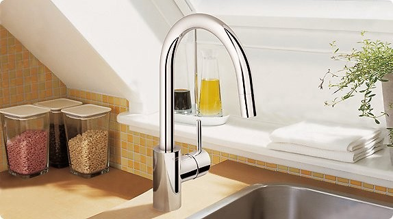 Grohe Concetto Contemporary Kitchen Faucets by
