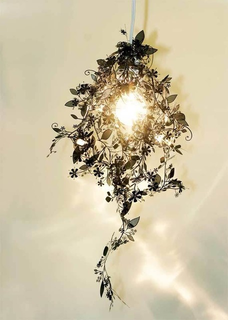 Artecnica Garland Light - Black eclectic-chandeliers