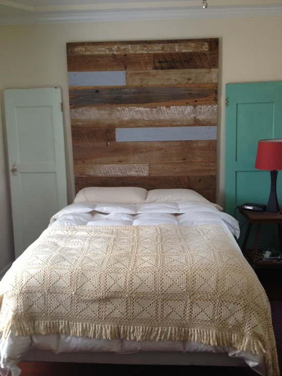 Reclaimed Wood Headboard (tall) -