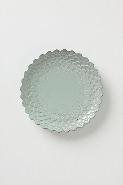 Piecrust Salad Plate contemporary-plates