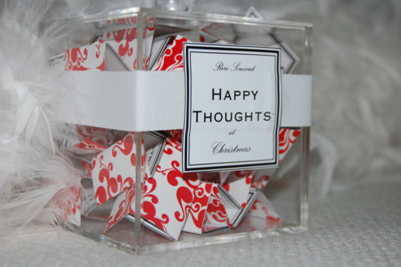 Happy Thoughts Advent Calendar by Rire Souvent modern-christmas-decorations