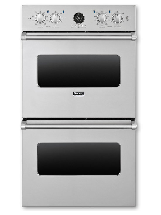 """Viking 27"""" Double Electric Wall Oven, Stainless Steel 