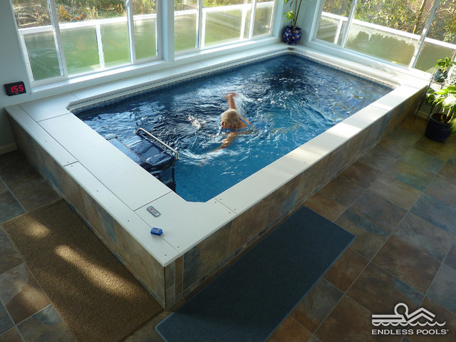 Indoor Endless Pool® contemporary