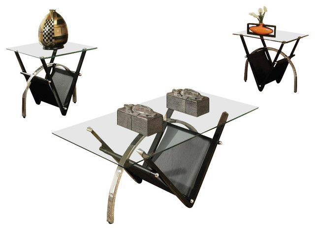 3-Pc Tribecca Occasional Table Set contemporary-coffee-tables