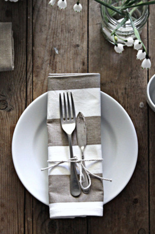 BC Stripey Napkin traditional table linens