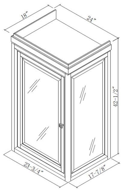 "48"" Modena Single Vanity traditional-bathroom-vanities-and-sink-consoles"