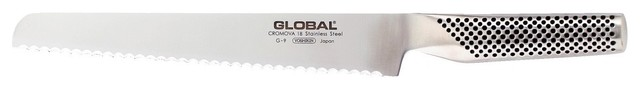 """Global G Series Bread Knife, 8.5"""" contemporary-bread-knives"""
