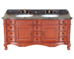 "67"" Bosconi T-3816 Double Vanity traditional-bathroom-vanities-and-sink-consoles"