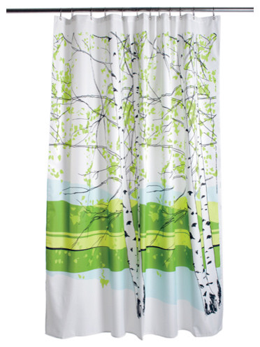 Marimekko Kaiku Shower Curtain contemporary shower curtains