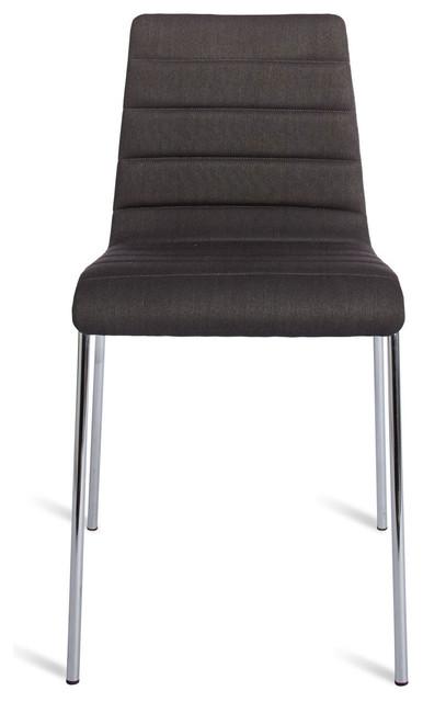 Blu Dot Roy Chair, Gun Metal - Modern - Dining Chairs - by Blu Dot