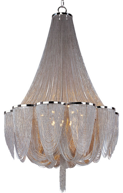 Chantilly 14 Light Chandelier by Maxim Lighting contemporary-chandeliers
