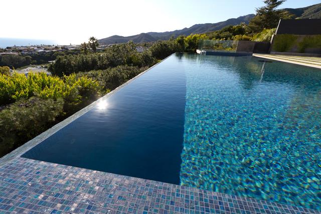Infinity Pool Malibu Ca Modern Los Angeles By Universal Pool And Spa