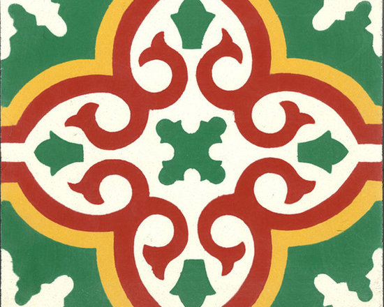 "In Stock Cement Tile - ""Bocassio"" from Cement Tile Shop"