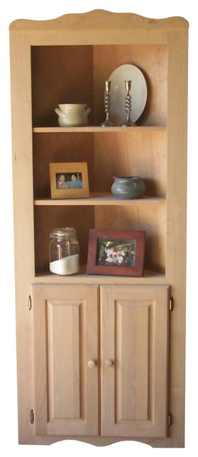 Furniture - Corner Cupboards and Corner Chinas traditional-furniture