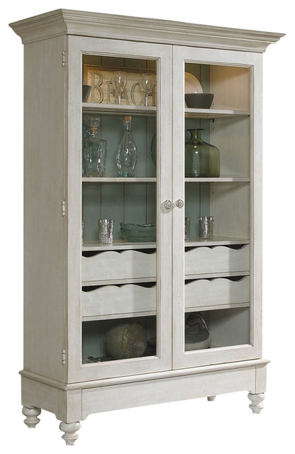 Summer Home Display Cabinet farmhouse-storage-cabinets