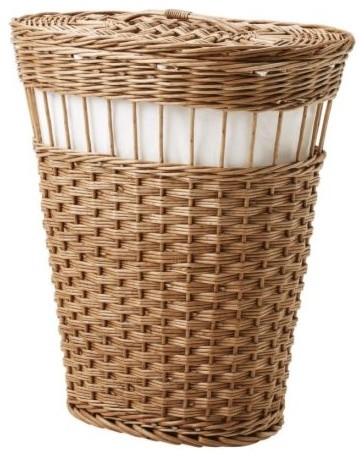 FLÄTA Laundry basket modern-hampers