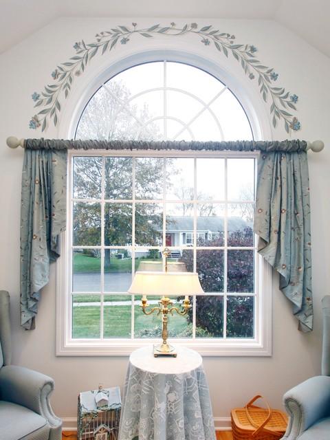 Window Treatment Redo traditional-family-room