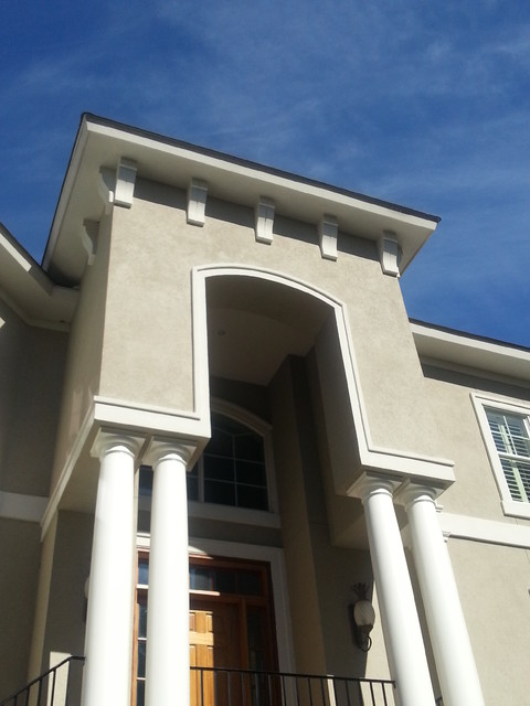 Hoffman Residence traditional-exterior