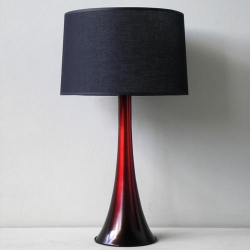 Babette Holland  Flamingo Table Lamp - Raku Fade modern-table-lamps