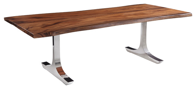 Westchester dining table large modern dining tables for Modern large dining table