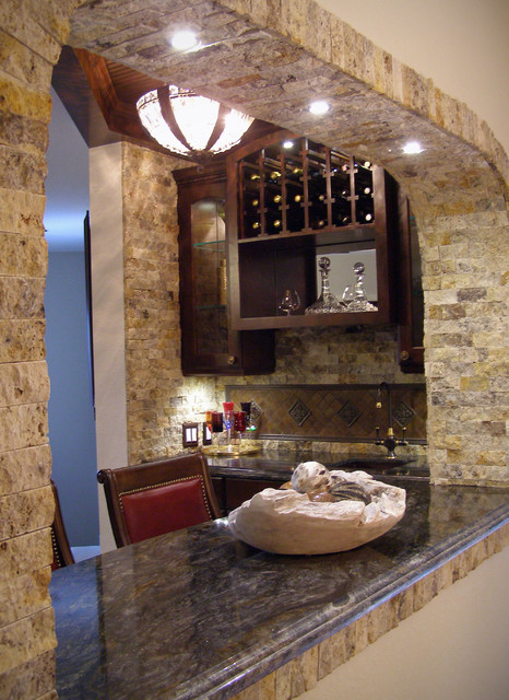 Wine Grotto Traditional Wine Cellar Houston By